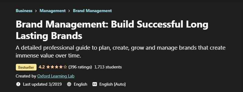 Build Successful long lasting Brands