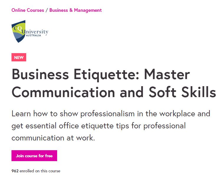 Business Etiquette Master Communication and Soft Skills