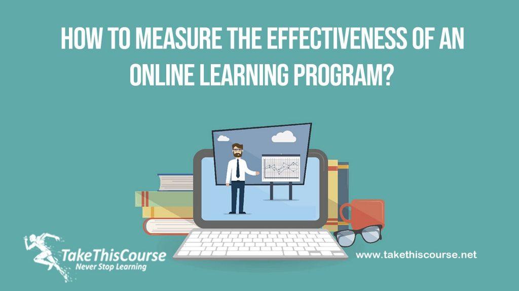 Effectiveness of an Online Learning Program