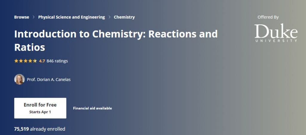 Introduction to chemistry Reactions and ratios