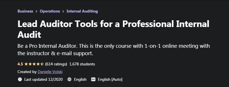 Lead Auditor Tools