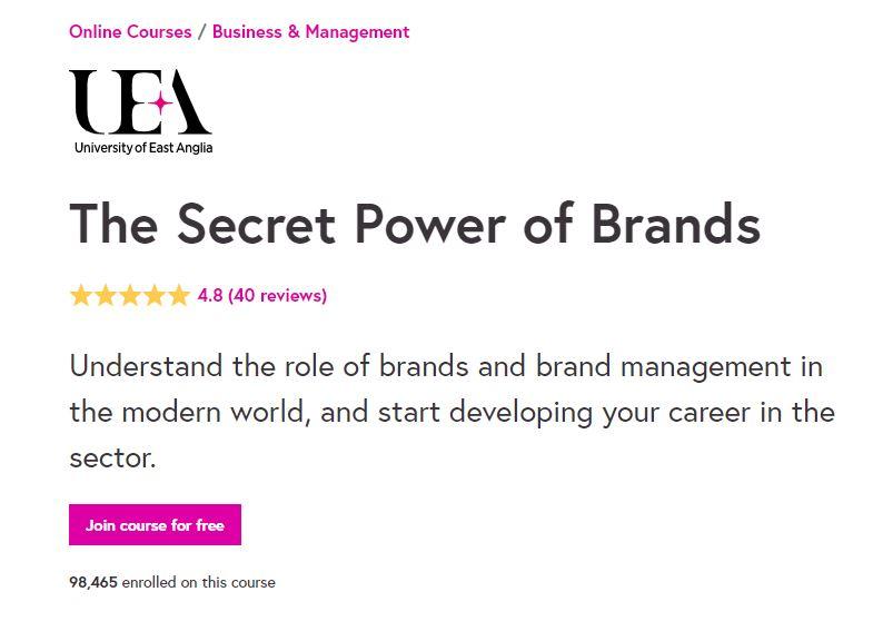 Secret power of brands