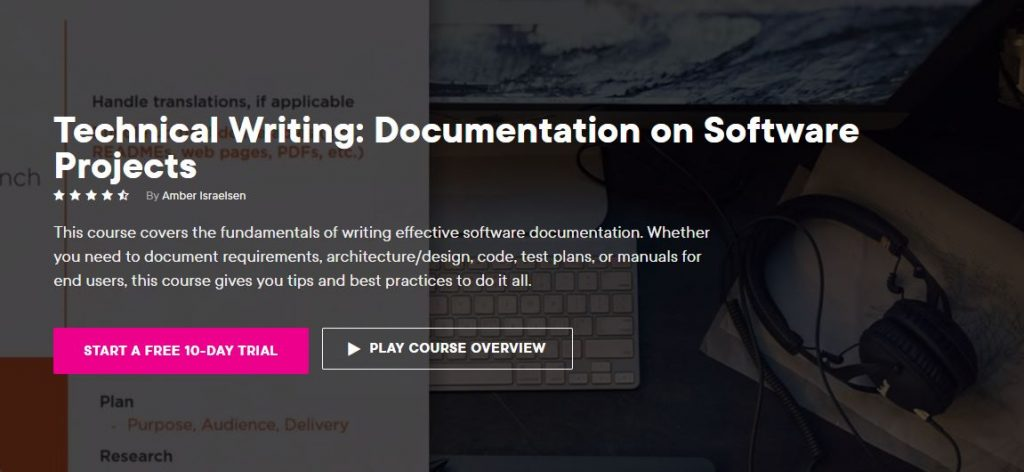 Technical writing documentation