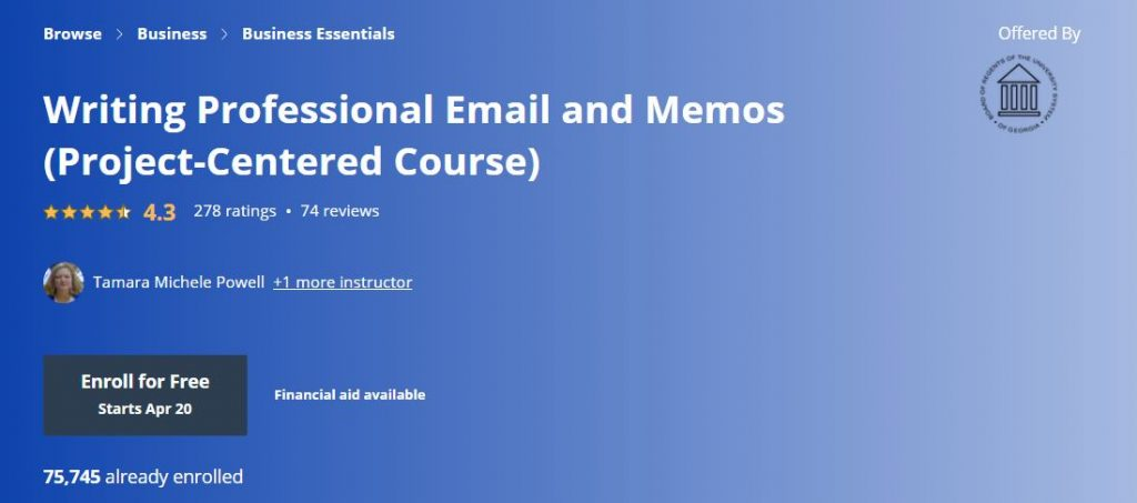 Writing Professional Email and MEmos