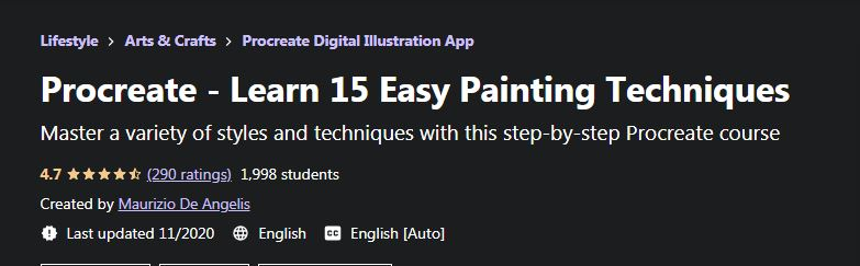 Learn 15 easy painting techniques