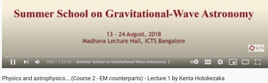 Physics and Astrophysics
