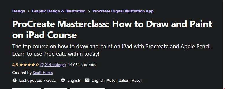 Procreate Masterclass