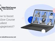 Boost Online course student engagement