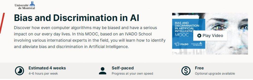 Bias and discrimination in AI
