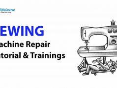 Sewing Machine repair tutorial Training